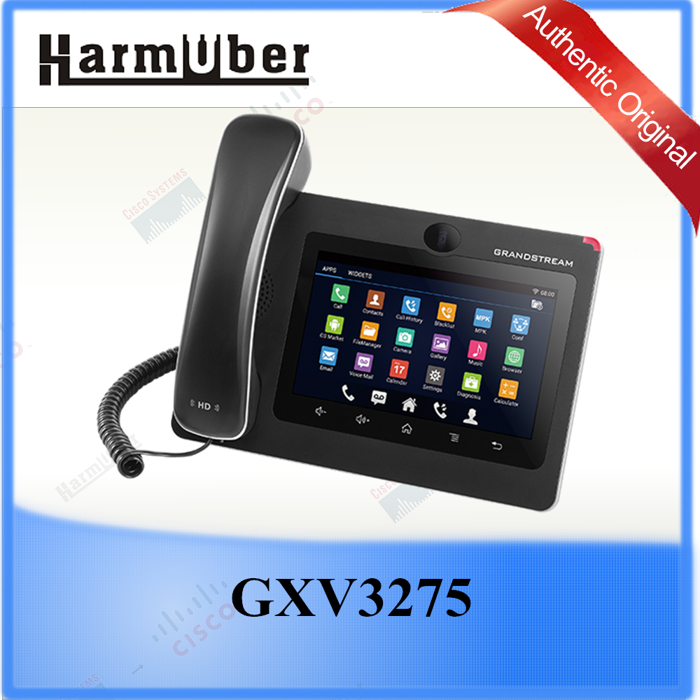 Pair it with Grandstream's GDS3710 Door Phone or Third-party Door Phones Grandstream GXV3275