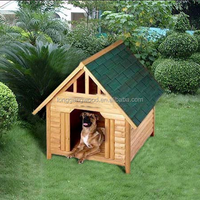 Factory cheap price wooden outdoor dog kennel