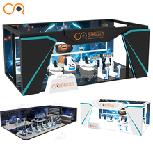 One Stop Design Play Zone Theme Park VR Equipment Shooting Arcade Machine Simulator For Theme Park