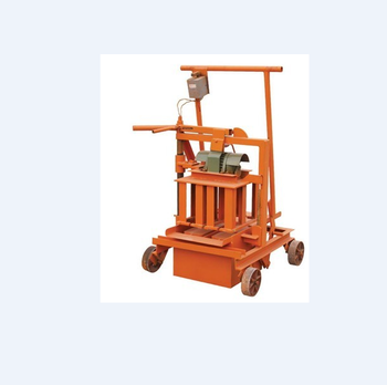 Wholesale price Construction machinery block making machine for build house