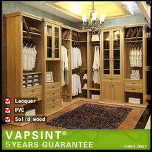 L shaped bedroom wall wardrobe design
