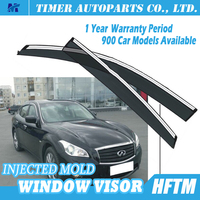 PC injected mould car side visor for infiniti M37 2013
