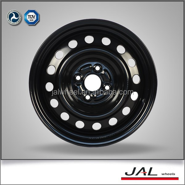 Best Quality with CE and DOT Certificate Black 15 Inch Steel Wheels