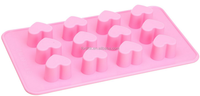 2016 best selling Amazon Best Seller Minecraft Silicone Ice Cube Tray Molds, Brick And Figure Silicone Ice Tray