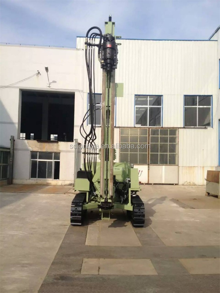 New Type Boring Pile Machine, Small Piling Rig MZ385Y