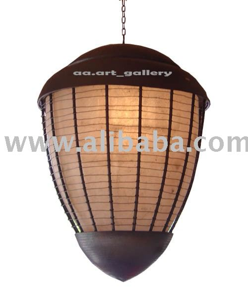 LAMP HANGING COPPER AND BRASS HANDICRAFT