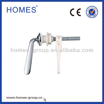 New product 4.'' Zinc handle WC Lever Cistern Toilet Lever Flush Handle tank lever