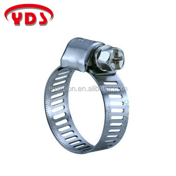 Mini American Type Worm Drive Hose Clamp