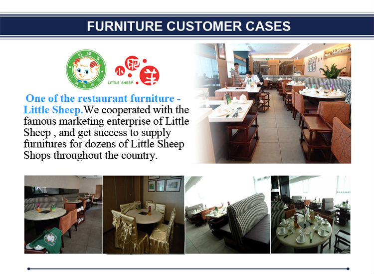 Popular with good quality used restaurant dining table and chair