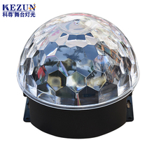 6*3W 6 color rgbwop DJ club disco KTV party led stage crystal magic ball lighting