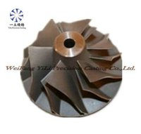 Compressor impeller used for aircraft spare parts