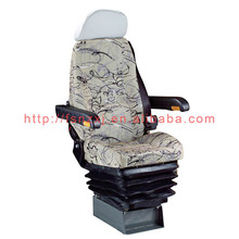 Comfortable hydraulic truck driver seat