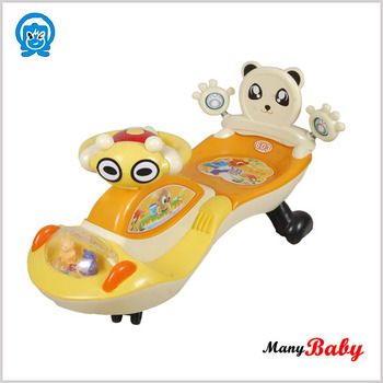 2015 NEWEST baby tricycle baby swing car in china baby car toy