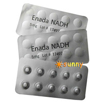 Dietary supplement anti aging NADH tablet