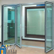 bi fold doors and windows,walnut color doors,cheap accordion doors