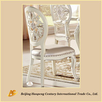 Dubai Wooden Dining Chair/Luxury Design Palace Vintage Dining Chairs