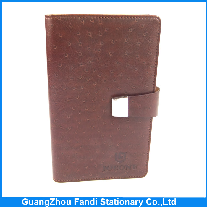 Pure hand made PU leather journal loose leaf notebook cover