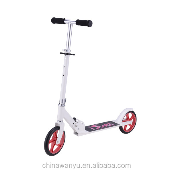 EN Certification pu wheels All Aluminium Adult kick scooters