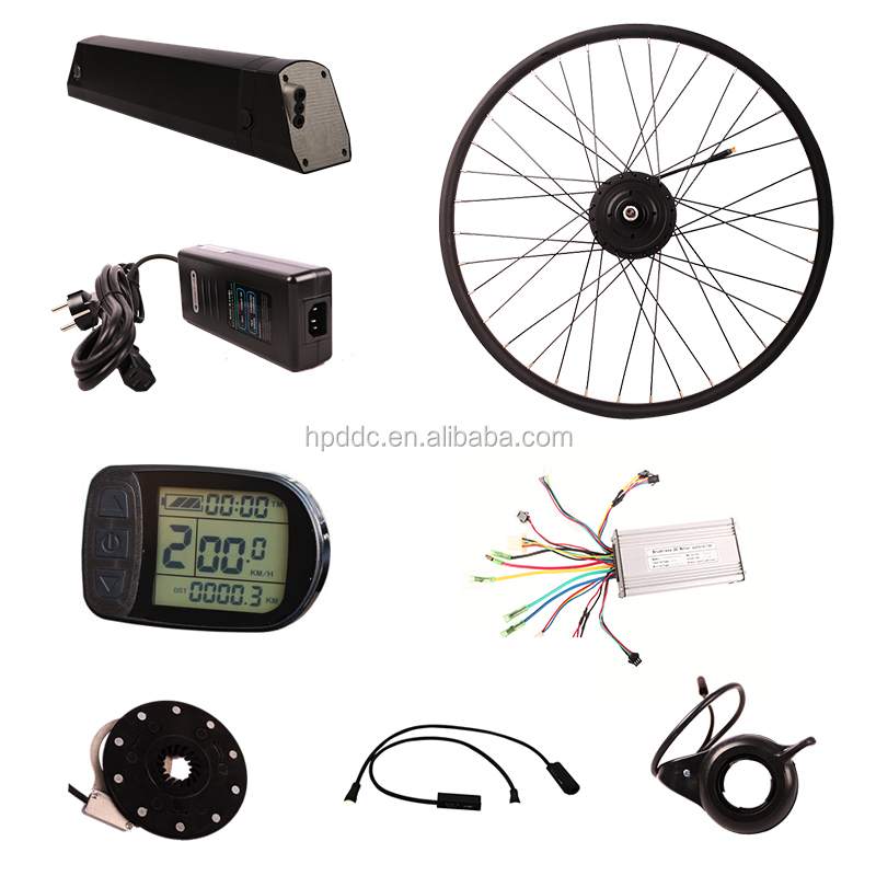 Full ebike kit electric hub motor kit controller electric bike kit europe