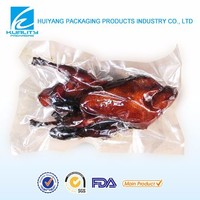 Nylon vacuum food bag for meat packaging design bag printing