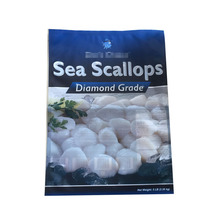 Matte Printed Soft Plastic bag for packing frozen seafood