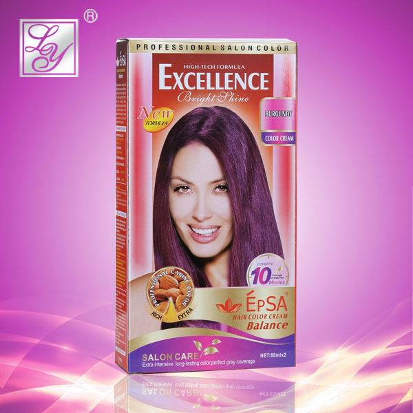 Permanent hair dye cream hair colorant hair tint