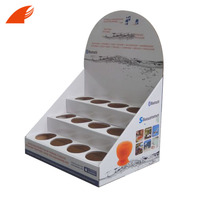Three Tiers Cardboard Counter Display Box For Electric Products/Power Bank Promotion