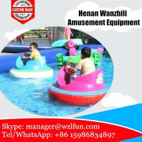 inflatable motorized pool toys/ giant inflatable water toys