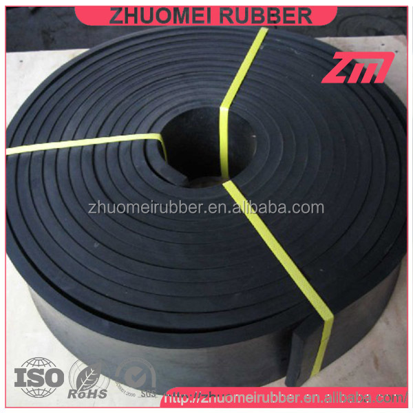60 Duro EPDM, Natural Rubber Skirtboard Strips