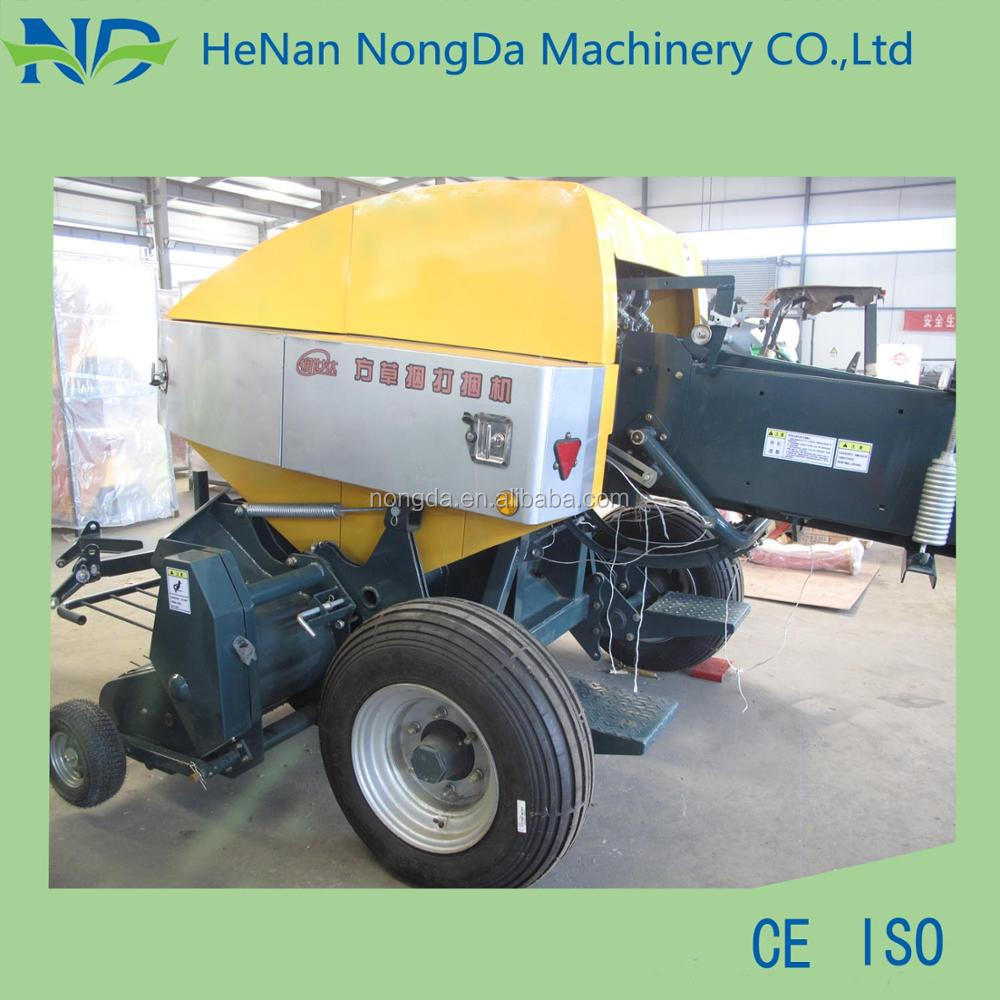Factory direct sale 100 bales/hour rice straw baler
