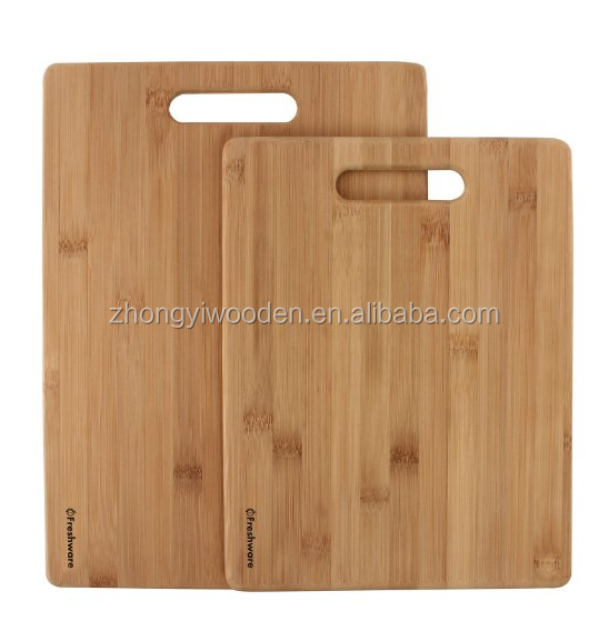 wholesale FSC&BSCI solid kitchen wooden meat cutting chopping board for the kitchenware