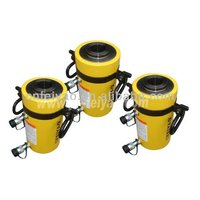 FY-RRH-1508 hollow plunger hydraulic cylinder with double acting/stroke 203 mm