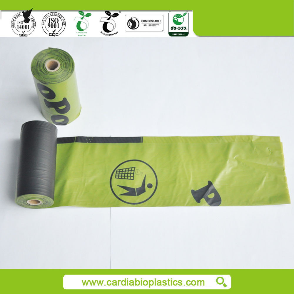 Hot Sale custom printed biodegradable pet grooming bags
