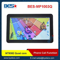 super slim 16G memory MTK8382 10 inch built in 3G with sim card mtk chino oem tablet pc