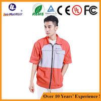Best quality cooling jacket and fashion secure and cheap air conditioned jacket