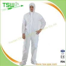 asbestos moving coverall, suit, workwear, clothing