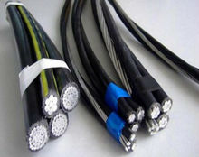 Al Alloy wire AAC/ACSR Conductor Twisted ABC Cable