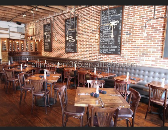 Rustic Restaurant Furniture And Wood Chair Wholesale