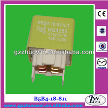 Auto Relay used in Fuse Relay Box, Control Relay for Mazda 323 BJ B5B4-18-811 / B5B4-18-811 L1