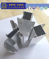 Aluminium Frame Profile mill finish Sliding Window shuntang window and door extrusion profile