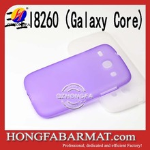 Matt TPU Covers For Samsung I8260/I8262/Galaxy Core Mobile Phone Case