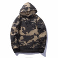 2018 winter unisex polar fleece pullovers oversized camo hoodie custom hip hop streetwear sweatshirt wholesale sublimated hoodie