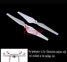 Lowest Wholesale Price DJI White Unlock ccw cw RC 9443 Nylon Props Propeller Blade for DJI Phantom Vision 1 2 Quadcopter