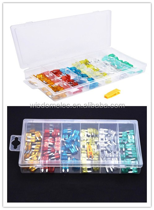 plastic box packing auto fuse