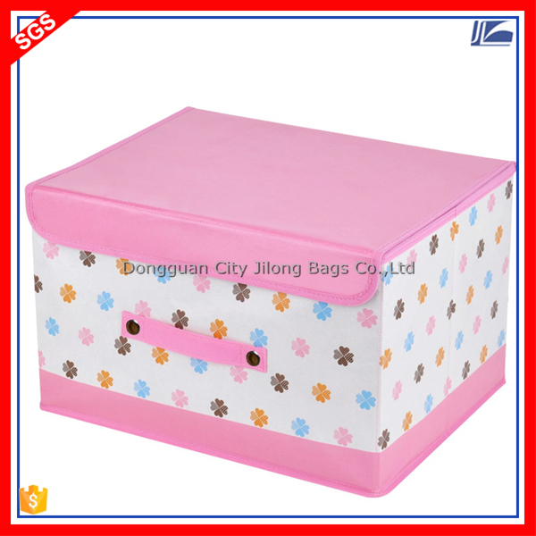 Custom Flodable Non Woven Storage Box