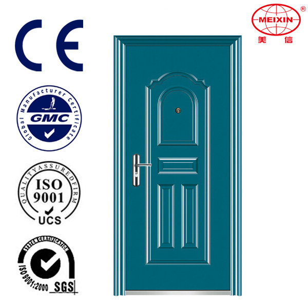 Standard Size Of Main Gate 2016 High Quality Fire Steel Doors With Panic Push Bar