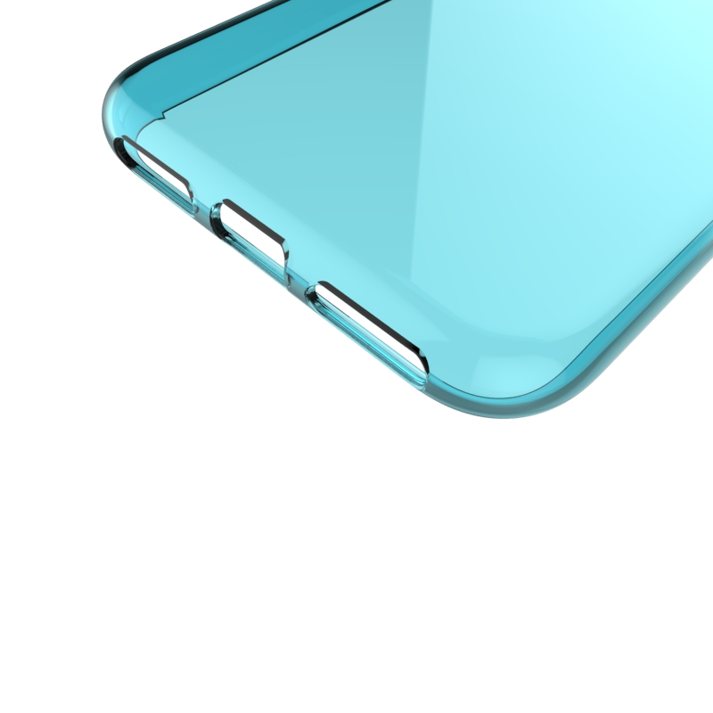 glossy design tpu gel soft mobile phone cover For Iphone X gel case