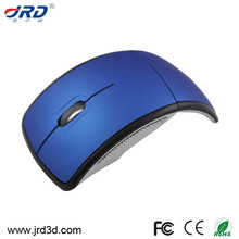 Wireless Mouse with Nano Receiver Laptop Best Promotional Foldable Mouse 2.4G Arc Folding Wireless for Laptop Notebook from JRD
