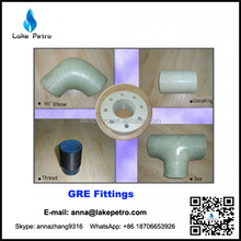 GRE Glass Reinforced Epoxy flanges and GRE fittings