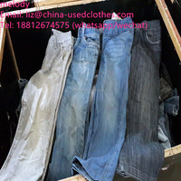 used clothes/used men jeans